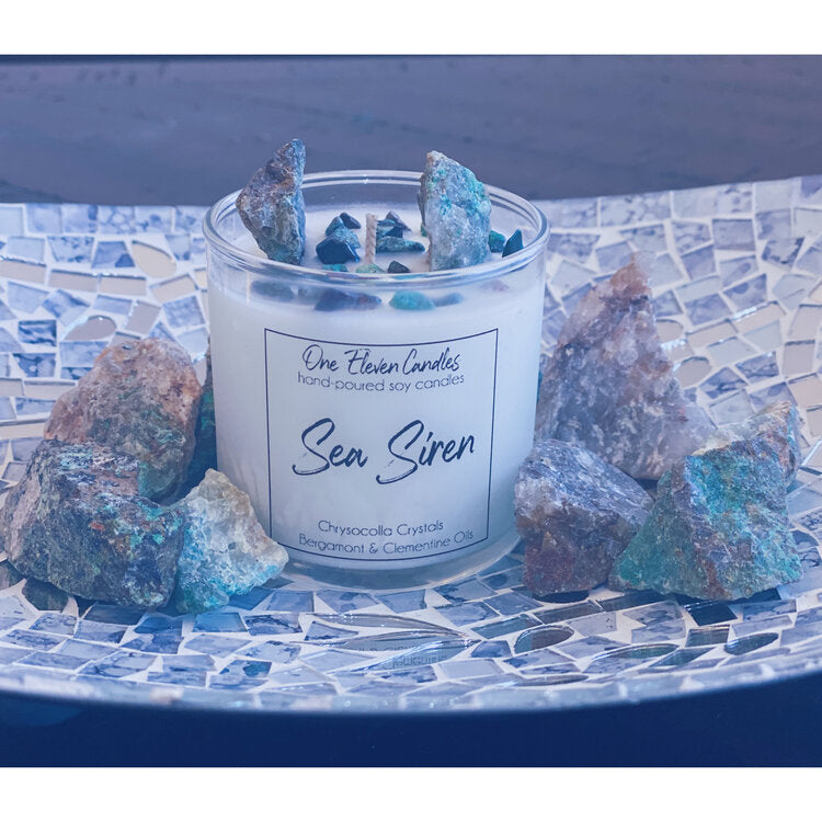 Sea Siren - Crystal Soy Candle