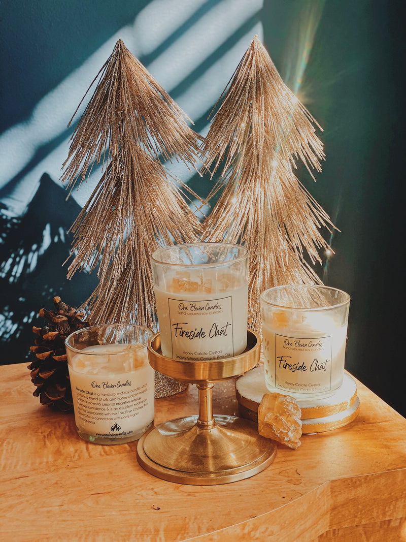 Fireside Chat - Crystal Soy Candle