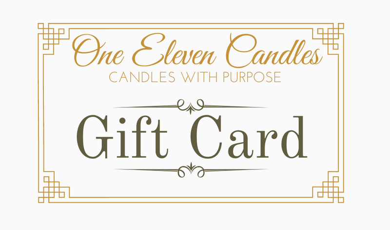 One Eleven Candles Gift Card