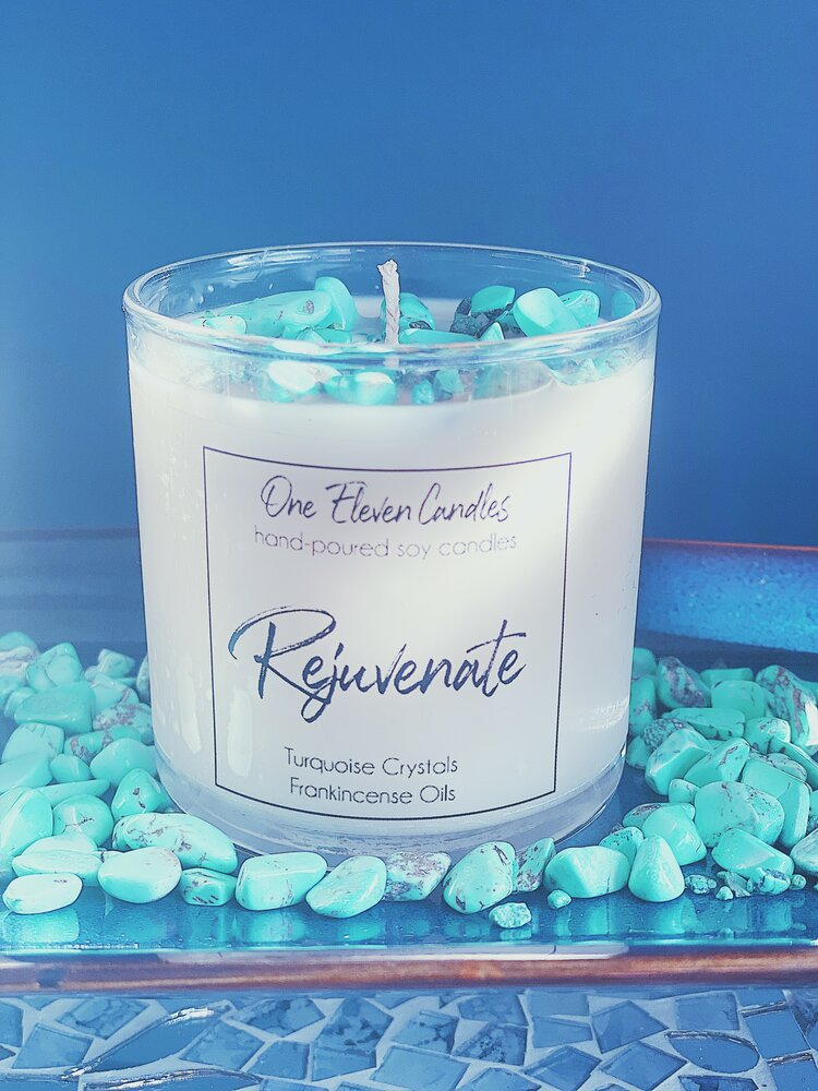 Rejuvenate - Crystal Soy Candle