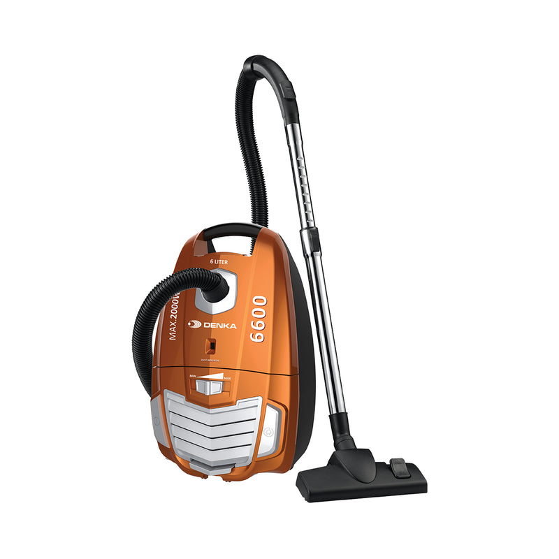 Canister Vacuum Bagged 2000W Max 6L