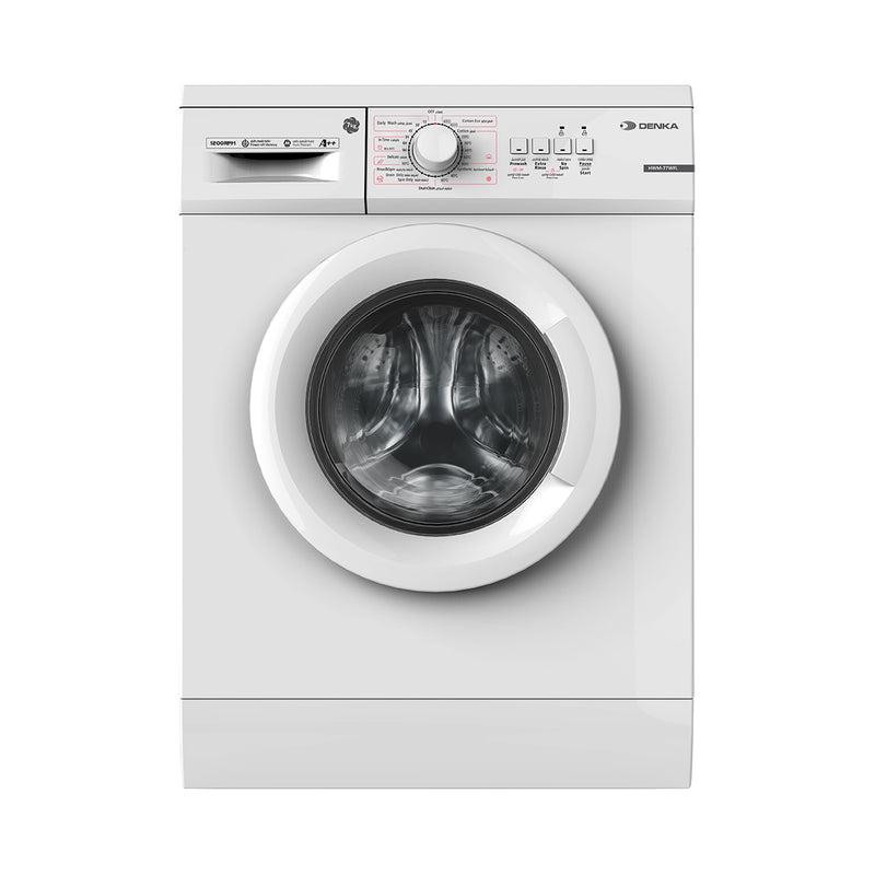 Front Loading Washing Machine 1200 RPM Child Lock	7Kg