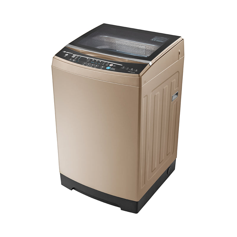 Top Loading Washing Machine One Touch Smart Control, 15.5Kg, Beige