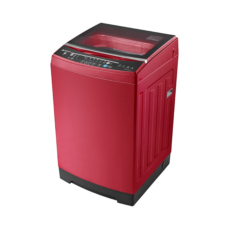 Top Loading Washing Machine One Touch Smart Control, 15.5Kg, Red