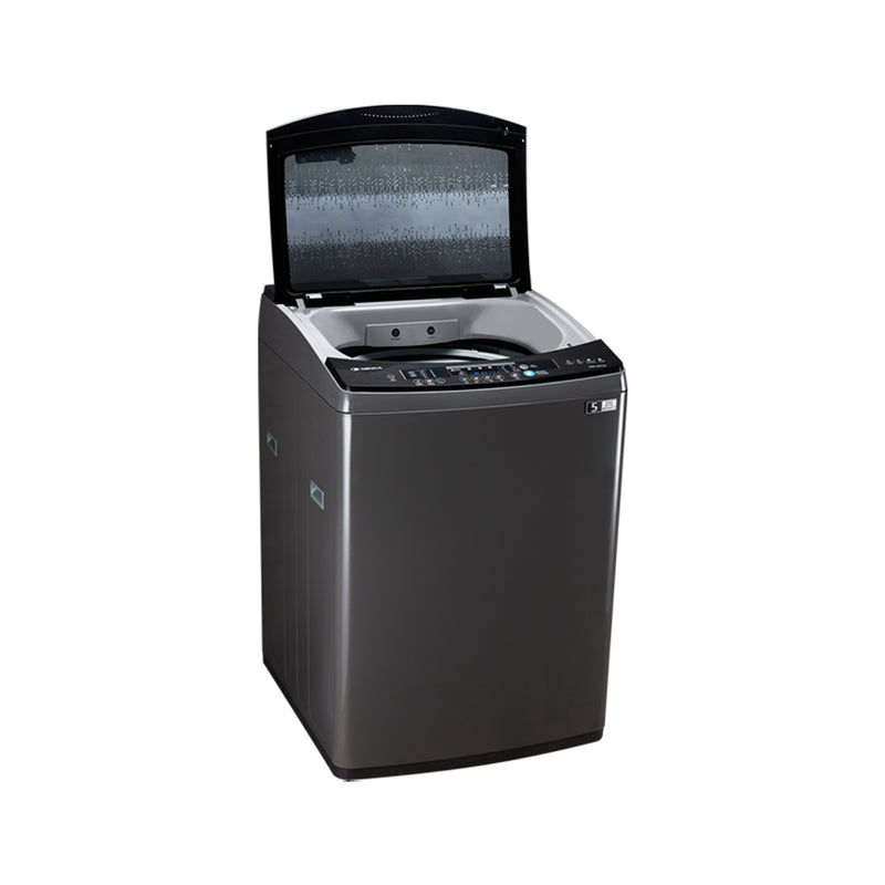 Top Loading Washing Machine One Touch Smart Control, 15.5Kg, Silver