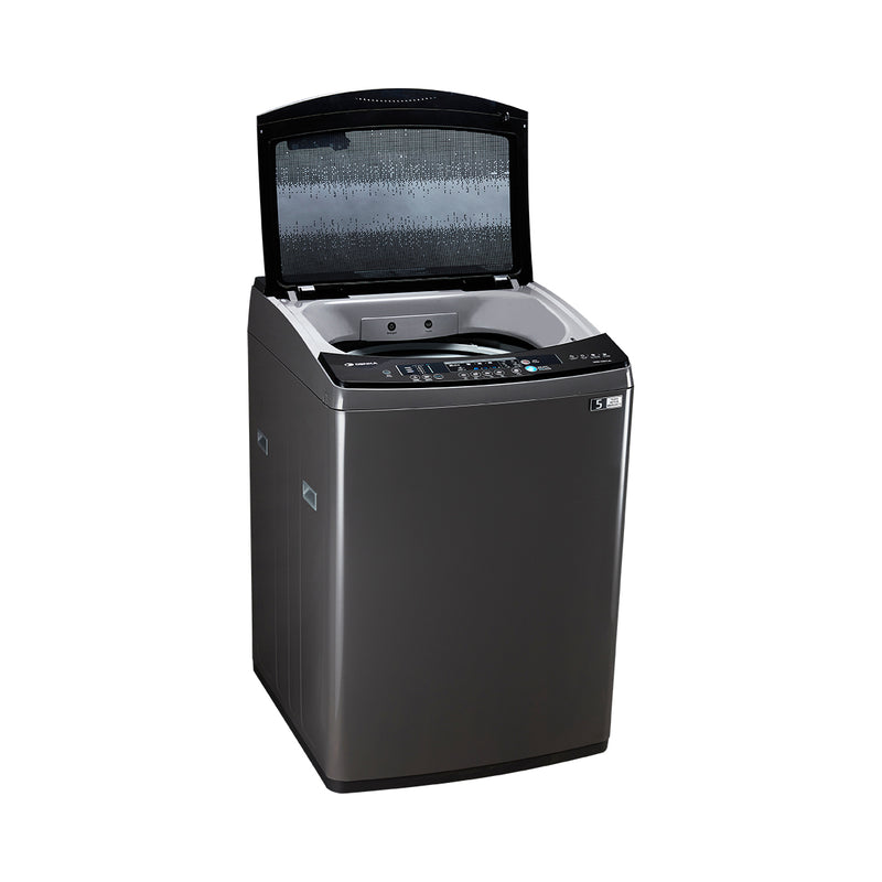 Top Loading Washing Machine One Touch Smart Control, 17.5Kg, Silver