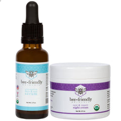 Organic Bed Time Bundle - Serum + Night Cream
