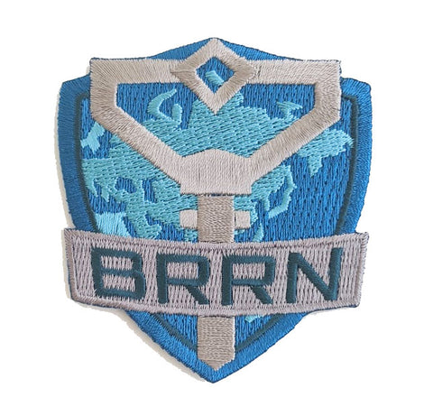 BRRN Embroidered Patch