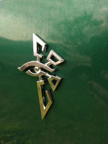 Ingress Chrome Enlightened Auto Decal