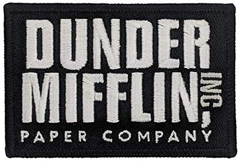 Dunder Mifflin - The Office Patch (Iron-On or Velcro)
