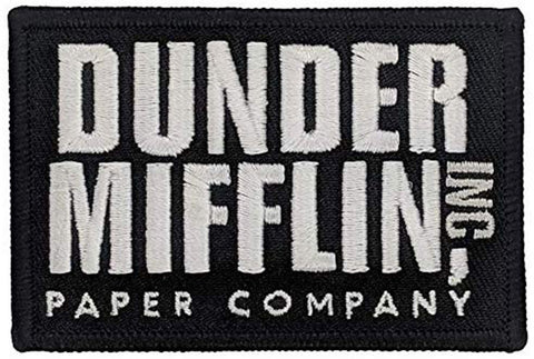 Dunder Mifflin - The Office Patch (Iron-On)