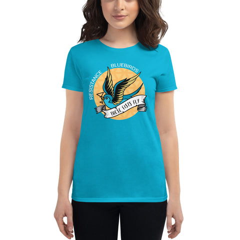 Bluebirds Int'l Women's short sleeve t-shirt (personalized)