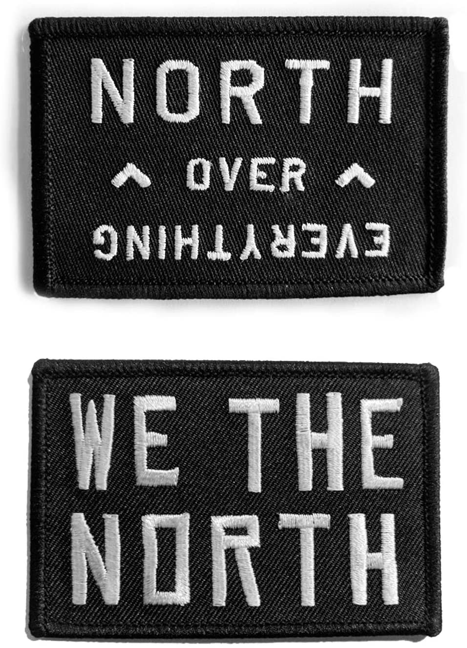 WE THE NORTH / North Over Everything combo set - Iron-on Patches