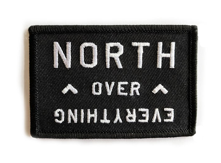NORTH OVER EVERYTHING Canada Iron-On Patch