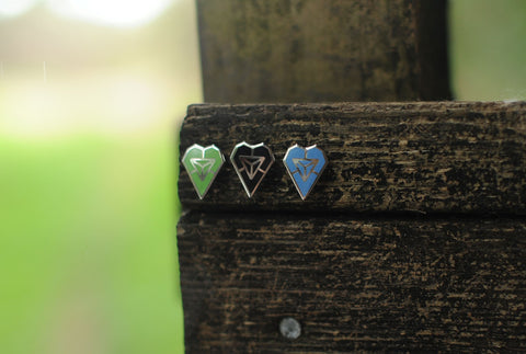 Ingress Cloissone Pins (Set of 3)