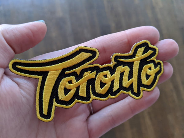Toronto Gold Patch - (Iron On) Rep the 6