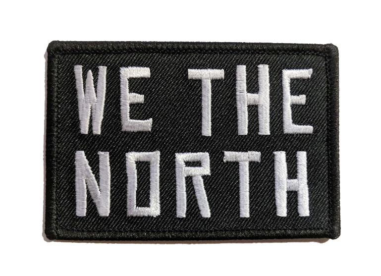 WE THE NORTH Canada Iron-On Patch