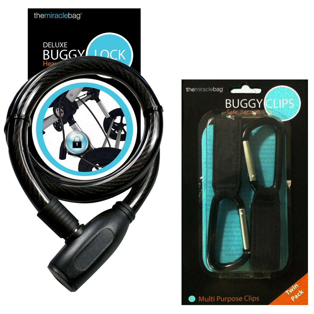 Buggy Lock and Secure Buggy Clips