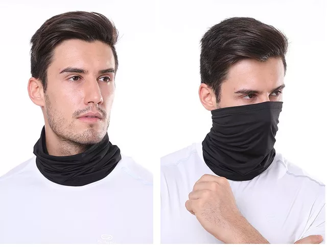 Multi-functional Seamless Neck Face-Covering Gaiter, Bandanna