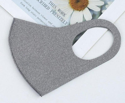 FASHION SUMMER DUST MASK SINGLE-LAYER POLYESTER & SPANDEX, WASHABLE, REUSABLE