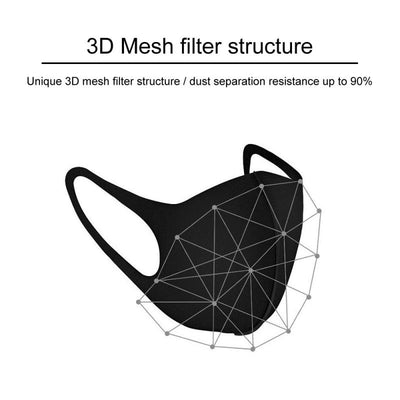 The dust face masks are made of high-quality nano microporous sponge and pure cotton, which is breathable & comfortable. TIME to MASK