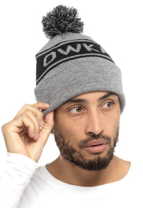 BOBBLE HAT ORIGINAL HEATHER GREY