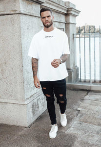 OVERSIZED T-SHIRT - WHITE
