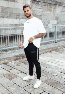 TRACKSUIT PANTS POLY - BLACK