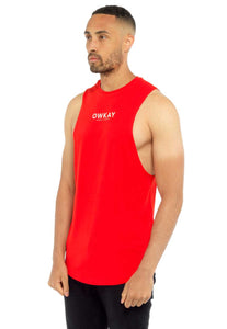 T-SHIRT CUT OFF RED