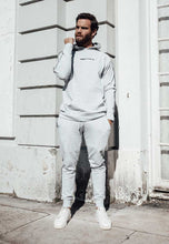 Load image into Gallery viewer, TRACKSUIT HOODIE PIPING - HEATHER GREY