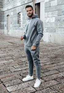 FULL TRACKSUIT - STEEL GREY (SAVE £5)