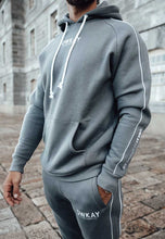 Load image into Gallery viewer, TRACKSUIT HOODIE - STEEL GREY