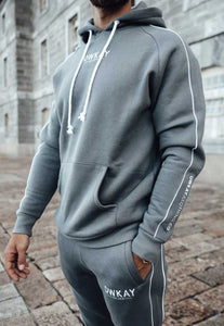 TRACKSUIT PANTS - STEEL GREY