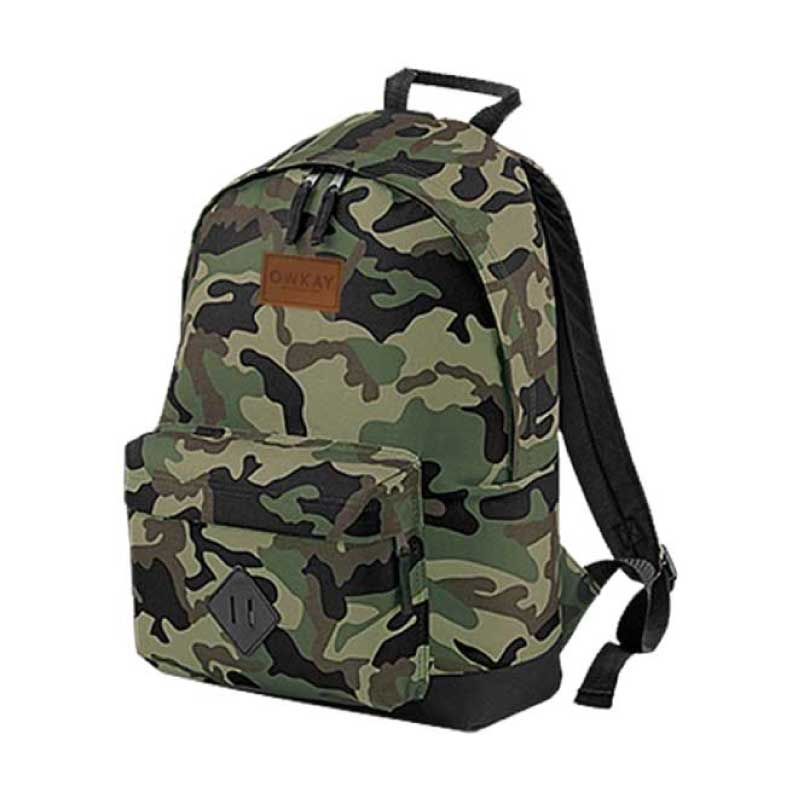 BACKPACK CAMO GREEN