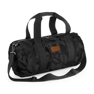 BARREL BAG CAMO GREY