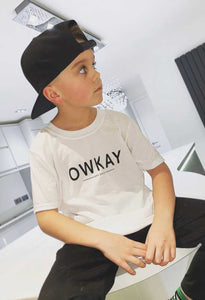 T-SHIRT ORIGINAL WHITE KIDS