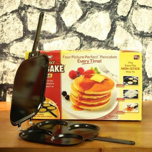 4 in 1 Nonstick Pancake Pan (Guaranteed Heavy Duty)