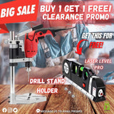 ELECTRIC DRILL STAND HOLDER + FREE LASER LEVEL PRO