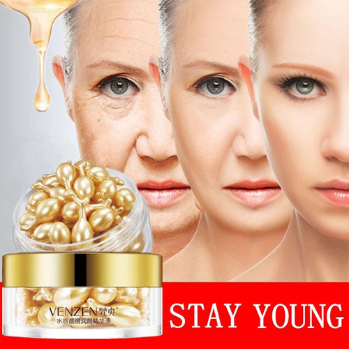 Anti Wrinkle, Anti Aging Whitening Freckle Essence Cream Capsules