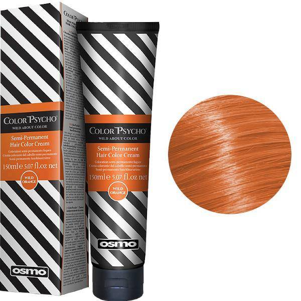 Osmo Color Psycho wild Orange  semipermanent hårfärg 150 ml