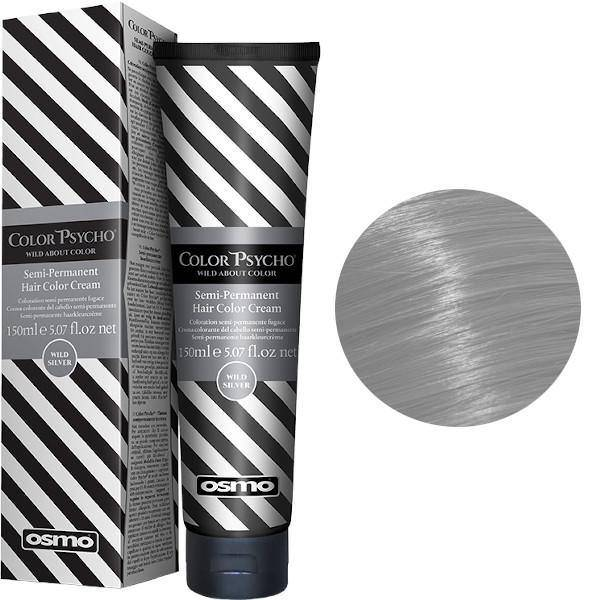 Osmo Color Psycho wild Silver  semipermanent hårfärg 150 ml - LottOff Online Shop