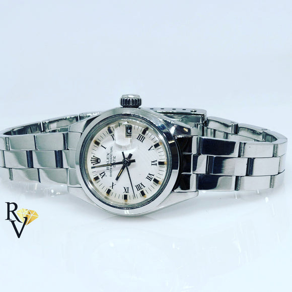 Orologio Rolex oyster perpetual date acciaio