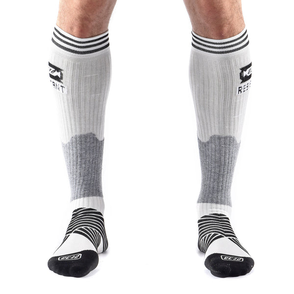 Bas de Compression Hockey Resistant aux Coupures