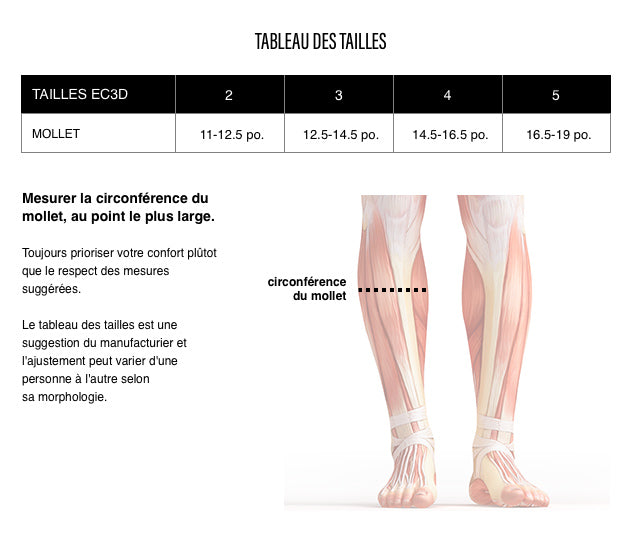 Bas de Compression Twist