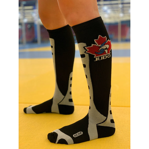Bas de Compression Performance Édition Judo Canada