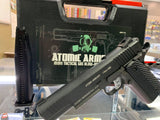 ATOMIC ARMOURY 1911 TACTICAL TOY GEL BLASTER GREEN GAS GBB