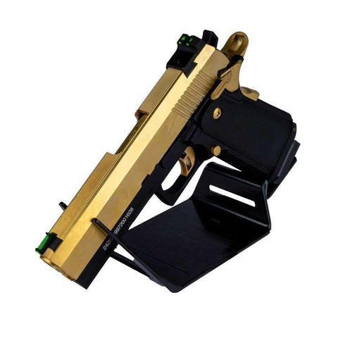 JG WORKS HI-CAPA 4.3 GOLD CO2 GBB PISTOL GEL BLASTER