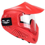 Valken GOTCHA MI-3 Goggle with Head Strap - Red