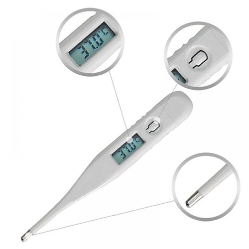 Digital Electronic LCD Thermometer With Prompt Function