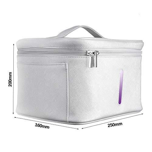 Portable LED UV Disinfection Bag
